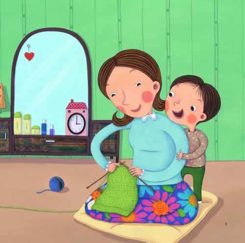 講誠信的圖畫兒童畫